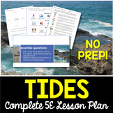 Tides Complete 5E Lesson Plan - Distance Learning