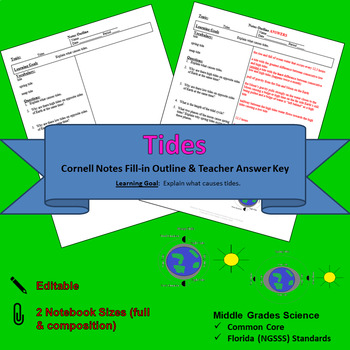 Tides Cornell Notes #23