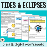 Tides and Eclipses Practice