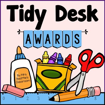 Tidy Desk Awards Freebie