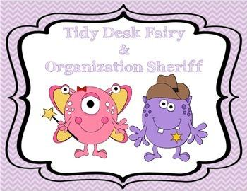 Tidy Desk Fairy & Organization Sheriff