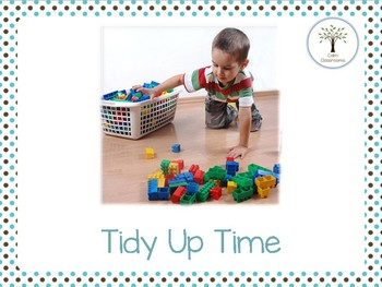Tidy Up Time- A Social Script for Reluctant Tidiers