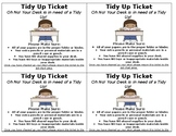 Tidy Up Tickets