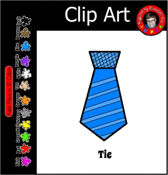 Tie Clip Art ~ Father's Day ~ Christmas ~ Commercial Educational Use