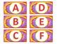 Tie Dye Book Bin Labels