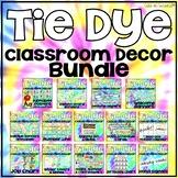 Tie Dye Classroom Decor Bundle (Growing Bundle)