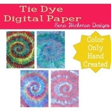 Tie Dye Digital Paper