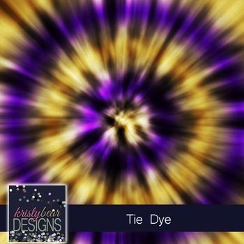 Tie Dye Digital Papers