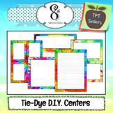 Tie Dye Learning Center Maker
