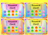 Tie Dye Rewards Punch Card