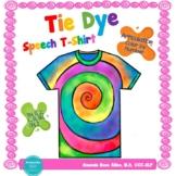 Tie Dye T-Shirt Articulation