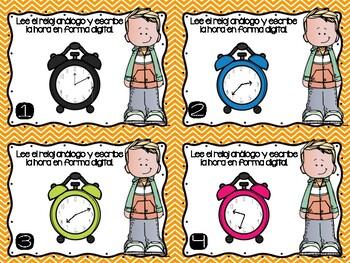 Tiempo: Intervalos de 5 y 1 Minuto/ Time: 5 & 1 Minute Intervals