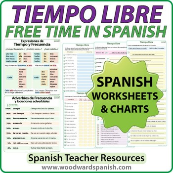 Tiempo Libre - Spanish Worksheets