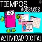 Tiempo Verbal En Español Actividad Digital - Google Slides™