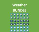 Tiempo (Weather in Spanish) Bundle
