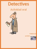 Tiempo (Weather in Spanish) Detectives speaking activity