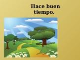 Tiempo (Weather in Spanish) PowerPoint