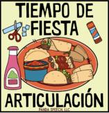 Tiempo de Fiesta Articulación: A Speech Craft Activity (Español)