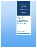 Tier 1 Restorative Practices Packet