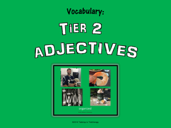 Tier 2 ADJECTIVES