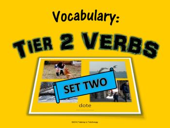 Tier 2 VERBS
