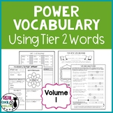 Tier 2 Vocabulary & Activities | Academic Vocabulary Word Work | Volume 1 Bundle