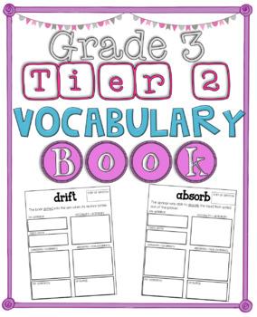 Tier 2 Vocabulary Book, Grade 3