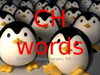 Tier 2 Vocabulary- CH words- Artic