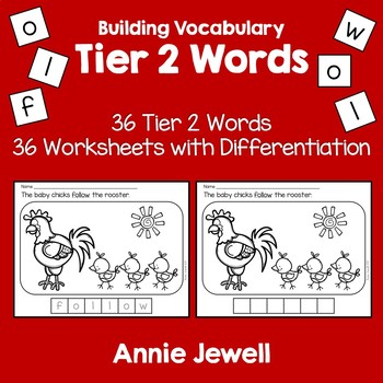 Tier 2 Vocabulary Printables