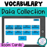 Tier 2 Vocabulary Speech Therapy Data Collection Language