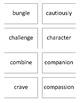 Tier 2 Vocabulary Matching Cards - 5th grade