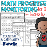Tier II Math Intervention Progress Monitoring Kit; Countin
