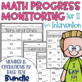 Tier II Math Intervention Progress Monitoring Kit; NBT BUN
