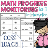 Tier II Math Intervention Progress Monitoring Kit for 1st Grade 1.OA.C.5