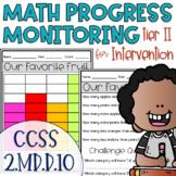 Tier II Math Intervention Progress Monitoring Kit for 2nd