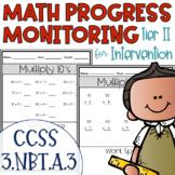 Tier II Math Intervention Progress Monitoring Kit for 3rd