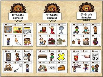Tier Two Turkeys:  A Vocabulary Game (K-5th grade)