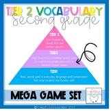 Tier Two Vocabulary Mega Game Set 2nd Grade