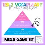 Tier Two Vocabulary Mega Game Set for Kindergarten