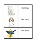 Tiere (Animals in German) Concentration Games