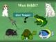 Tiere (Animals in German) PowerPoint