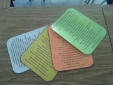 Tiered Bloom's Taxonomy Question Cards and Products