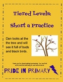 Tiered Levels - Short a