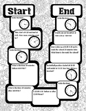Three Math Game Boards - GoMath Chapter 10 - Time