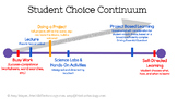 Tiered Student Choice Literary Analysis Activity Menu (The