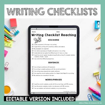 ESL Writing Rubric - WIDA Aligned