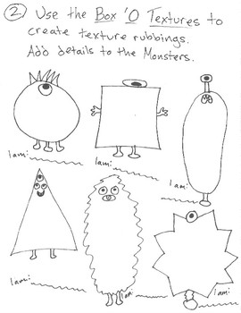 Tiered textures monster activity