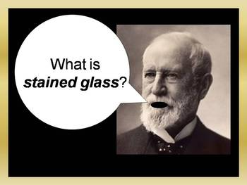 Tiffany Stained Glass Powerpoint
