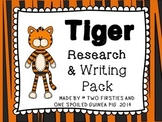 Tiger Animal Research And Informational Writing Report Pac