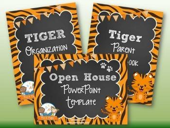 Tiger Back-to-School Timesaver Bundle